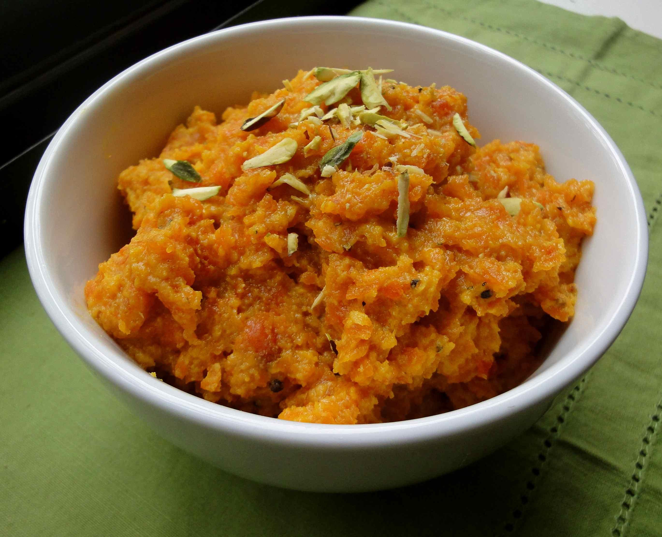 My favorite carrot halwa – Calcutta Chow